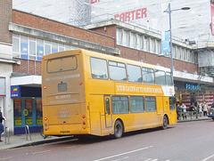 DSCF5864 Sanders Coaches 112 (YN53 CFD) in Norwich - 11 Jan 2019
