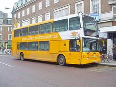 DSCF5863 Sanders Coaches 112 (YN53 CFD) in Norwich - 11 Jan 2019