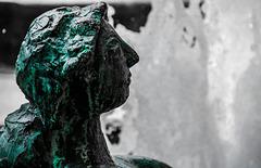 Kunst im öffentlichen Raum: Der Marshall-Brunnen in der Taunusanlage, Frankfurt