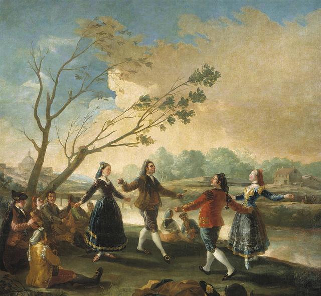 El baile a orillas del Manzanares (seguidille)