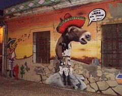Scene inspired on Mexico.