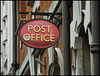Weymouth Post Office sign