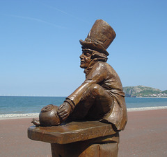 The Mad Hatter, Llandudno, North Wales.