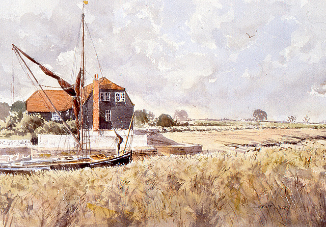 The  House on the  Marshes