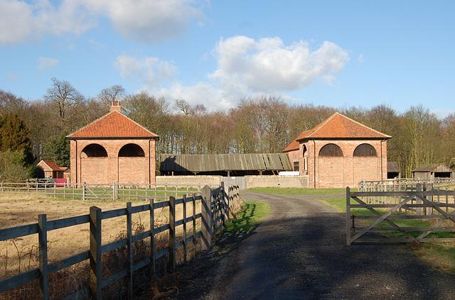 Welbeck Abbey Estate Farm near Ollerton, Nottinghamshire