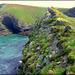 Porthcadjack from the crest of Samphire Island