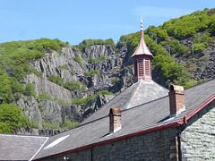 National Slate Museum, Llanberis, North Wales.