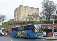 DSCF5850 Belle Coaches LIL 9713 (215 UGX) in Norwich - 11 Jan 2019
