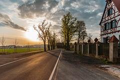 Sonnenaufgang am Wolfgangshof