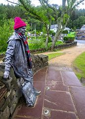 Tom Weir MBE Statue, Balmaha