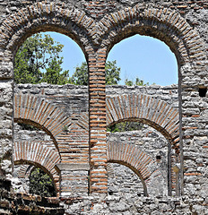 Ancient arches at Butrint