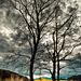 Impressionistischer Baum