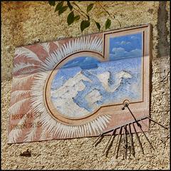 Usseaux : un'altra meridiana a Balboutet