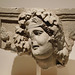 Relief of Dionysos-Dushara from Petra in the Metropolitan Museum of Art, March 2019
