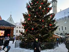 Kristnaska piceo en Tallinn