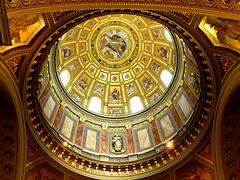 HU - Budapest - Dome of St. Stephen's basilica
