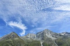 Ciel en Val d'Hérens, Valais (Suisse)