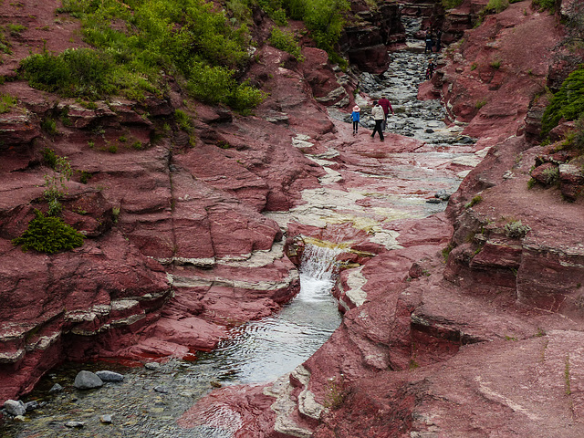 Red Rock Canyon, Waterton Lakes National Park