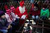 Stockbrot mit dem Nikolaus - Stick bread with Santa Claus - HFF!