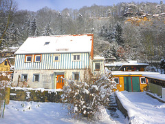 Mein Haus im Januar 2017
