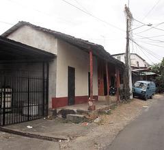 Scène de ruelle panaméenne