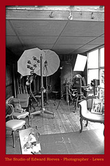 Edward Reeves' photography studio - Lewes - 8.9.2018