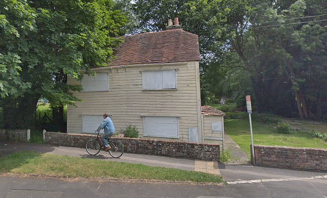 Old Stationmaster's Cottage, Langstone, Havant, Hampshire - Before