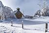 Buron sous la neige