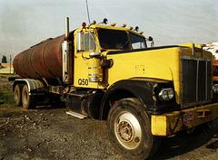 Hayes tank truck