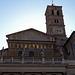 Detail of Santa Maria in Trastevere, June 2012
