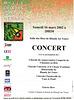 Concert Mille Choeurs à Blandy le 16/03/2002