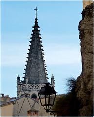 Avignon : il campanile della Basilica di S.Pietro