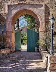 A door in Taroundannt