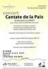 Cantate pour la paix à Chaumes-en-Brie le 04/06/2005