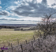 View from the Hogs Back over Surrey