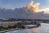 approaching Curaçao