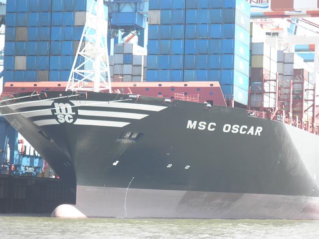am Container-Terminal Bremerhaven