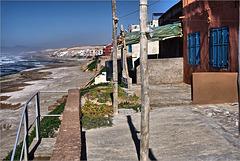At the beach of Douira