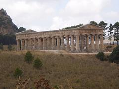 Dorian temple (5th century BC).