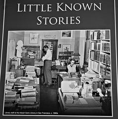 Sutro Library, SF. CA 1960s