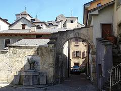 In der Altstadt von Sion / Sitten