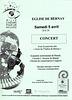 Concert à Bernay le 05/04/2008
