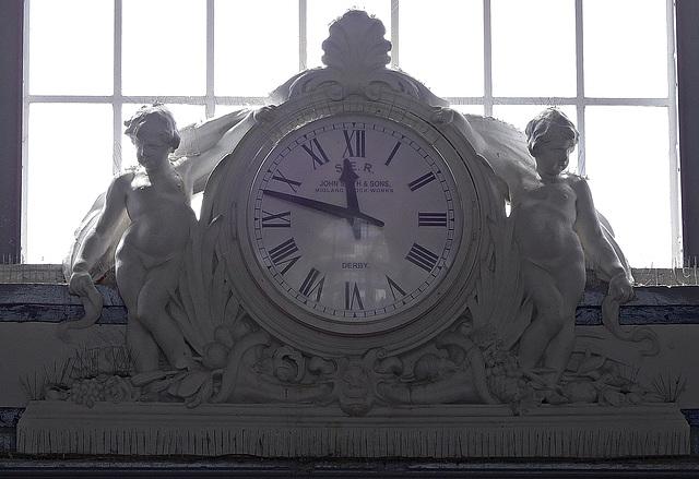 Margate Station clock