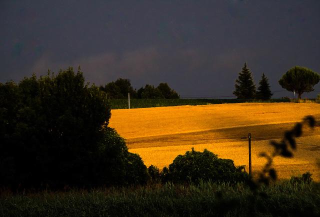 après l'orage - Drôme