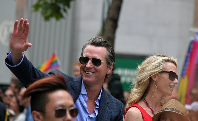San Francisco Pride Parade 2015 - Gavin Newsom (5666)