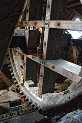 Bembridge Windmill - The works