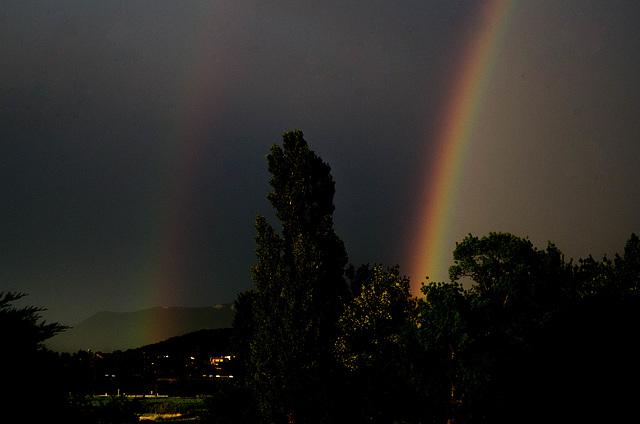 double arc-en-ciel - Drôme