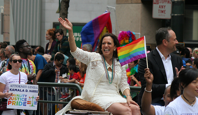 San Francisco Pride Parade 2015 - Kamala Harris (5861)
