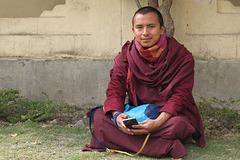 Monastère de Shechen, Bodnath = Boudhanath (Kathmandu, Népal)