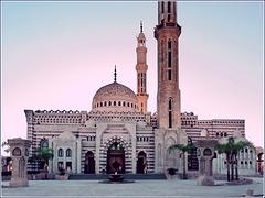 Sharm el Sheikh : la bella moskea nel centro turistico